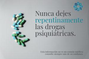 Guía Síndrome de Abstinencia  Drogas Psiquiátricas